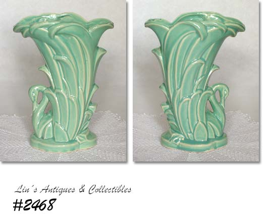 Mccoy Swan Vase Value Vase And Cellar Image Avorcor