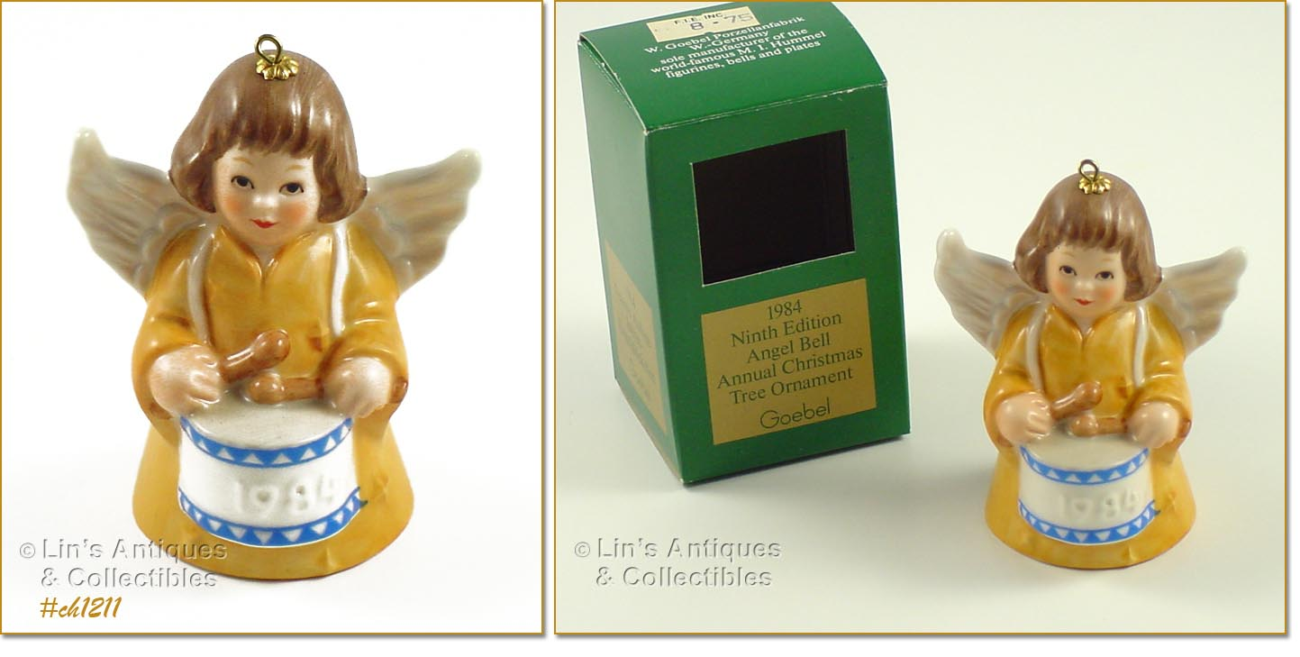 Goebel christmas ornaments - Another Excellent Condition Goebel Annual Christmas Tree Ornament Little Angel Measures 3 Tall 2 Wide At Widest And Is Marked Goebel W Germany