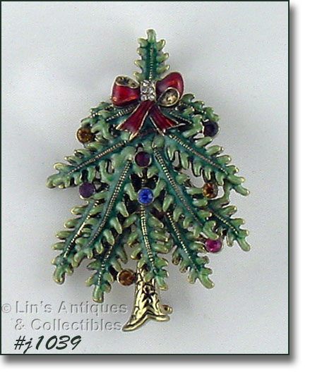 d29e7c0d490 AVON BEGAN ISSUING AN ANNUAL CHRISTMAS TREE PIN IN 2004 – THIS IS ONE OF  THOSE PINS!