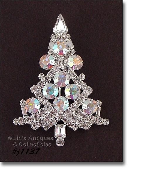 85b0bb5abeb THIS LISTING HAS AN ABSOLUTELY BEAUTIFUL EISENBERG ICE CHRISTMAS TREE  SHAPED PIN!