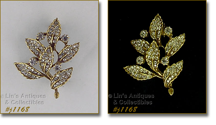 42c7eaaac2c THIS VINTAGE JEWELRY LISTING HAS A LOVELY GOLDETTE BROOCH!